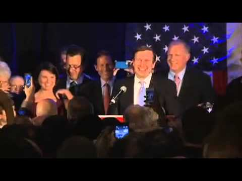 Raw Video: Chris Murphy victory speech