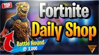 Fortnite Daily Shop *TOP* BATTLE HOUND SKIN (6 December 2018)