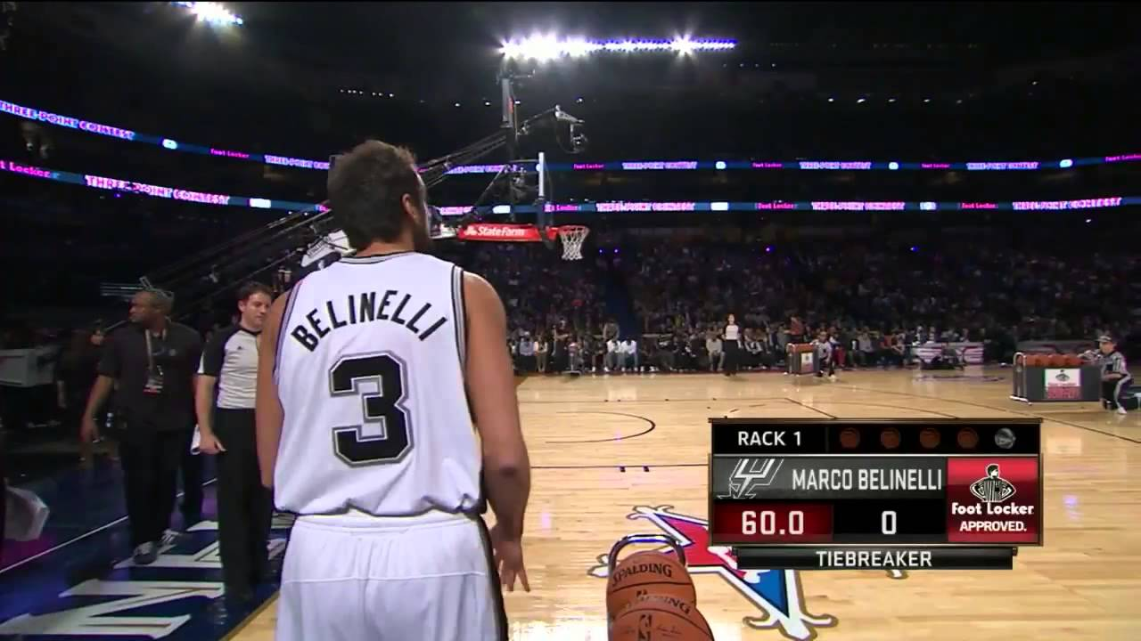 2014 NBA All Star Weekend - 3 Point Contest - Final Round - YouTube