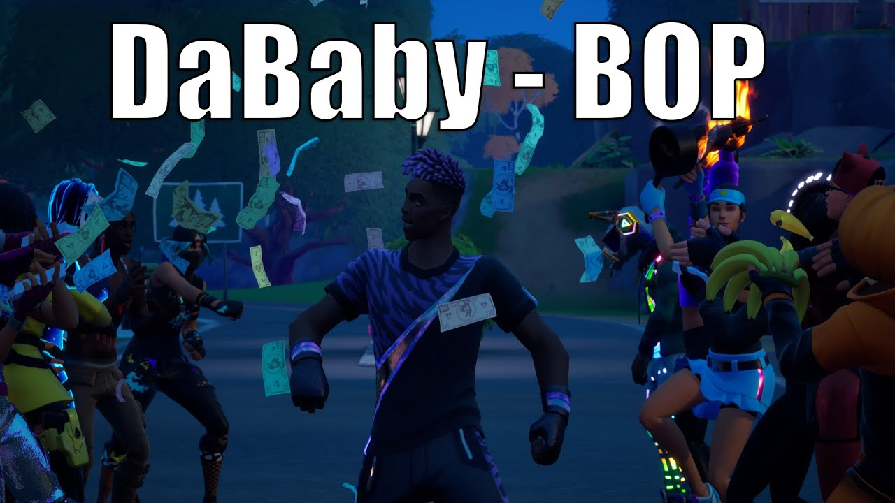 DaBaby - Bop (Official Fortnite Music Video) | Go Mufasa/Jabba Switchway