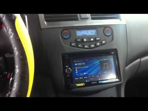 honda accord 2003 new radio kit youtube. Black Bedroom Furniture Sets. Home Design Ideas