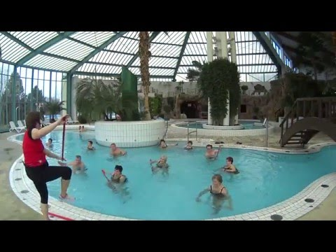 Wassergymnastik im Waikiki Thermen- und Erlebniswelt am Zeulenrodaer Meer