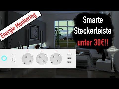smarte-steckerleiste-fÜr-alexa-mit-energie-monitoring!!