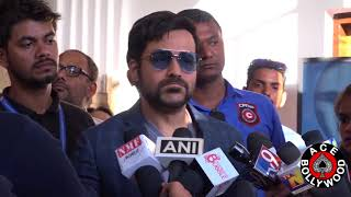 emraan hashmi talking about his upcoming movie at kala ghoda arts festival 2018