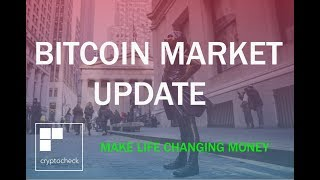 BITCOIN MARKET UPDATE  - PREPARING FOR THE CRASH