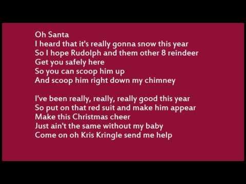 Mariah Carey - Oh Santa! Lyrics