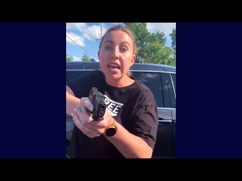 White Woman Pulls Gun On Black Woman During An Argument In Restaurant Car Park In Michigan