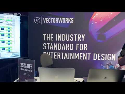 InfoComm 2019: Vectorworks Introduces ConnectCAD Systems Integration Software