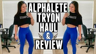 Alphalete Haul & Review