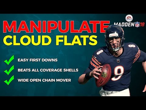 Madden 18 MANIPULATE the CLOUD FLATS with this EASY route combo | Beats ALL Coverage Shells