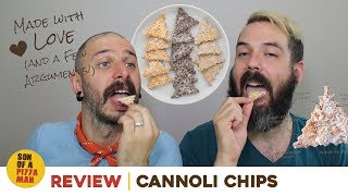 Review  Cannoli Chips