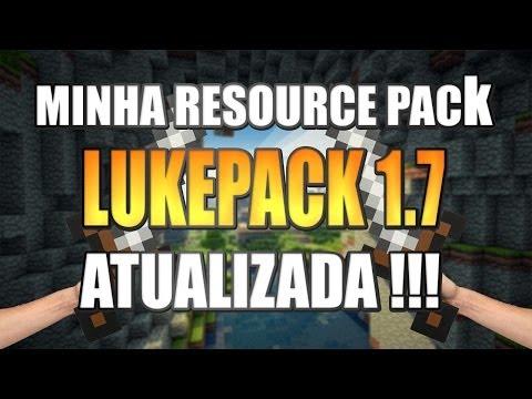 MINHA RESOURCEPACK ATUALIZADA 1.7 !!!! DEGRADÊ LOUCO!