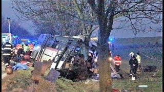 Horoměřice - nehoda autobusu PID