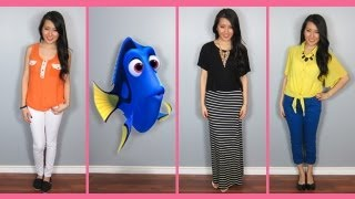 Finding Nemo Character Lookbook | A Beautycakez Disney Exclusive