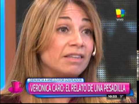 Verónica Caro contó la pesadilla que vivió con Anello