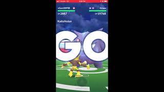 The battle of Shadow Ball! Alakazam vs Gengar (no weather boost)