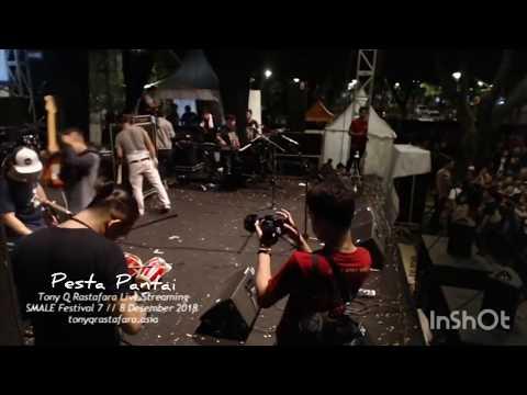 LIVE Tony Q Rastafara - Pesta Pantai ( At. Parkit Timur Senayan ) #SMALEFESTIVAL2018