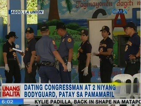 UB: Ex-congressman at 2 niyang bodyguard, patay sa pamamaril sa Agoo, La Union