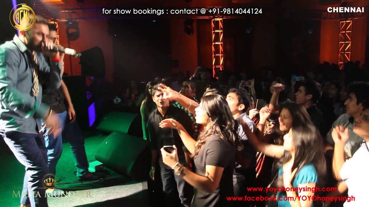 Yo Yo Honey Singh LIVE @ CHENNAI (25-01-13)
