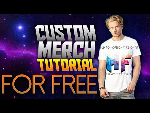 HOW TO MAKE CUSTOM MERCH ABSOLUTELY FOR FREE!!!