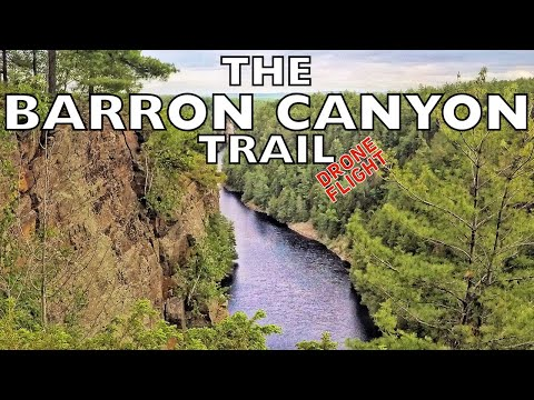 Barron Canyon Trail - Drone Flight - On The Trail - Episode #78