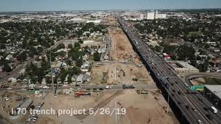 Denver's I-70 trench project