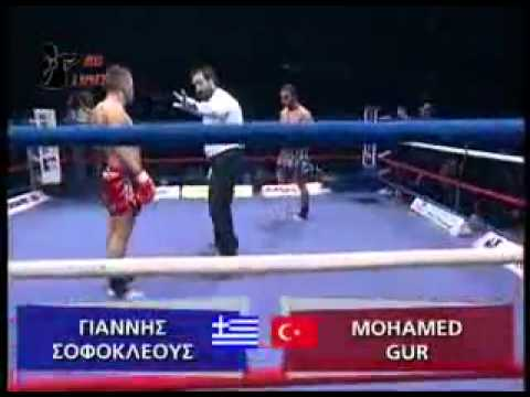 Giannis Sofokleous (Greece) vs Mohammed Gur (Turkey)