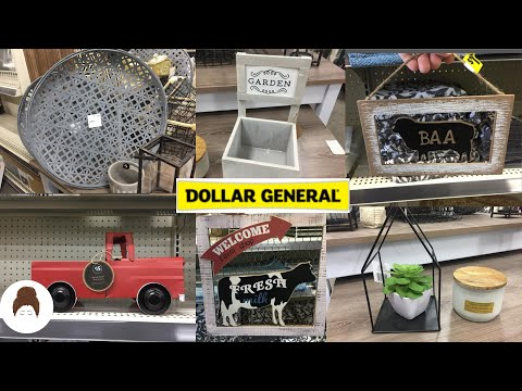 Dollar General Shop With Me | *New* FARMHOUSE DECOR 2020 |