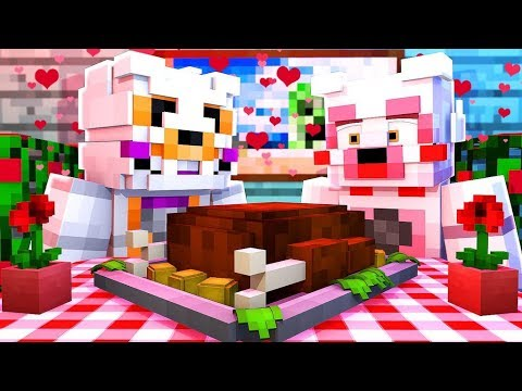 Lolbit Talks About Love and Her Husband! (Minecraft Daycare Roleplay)