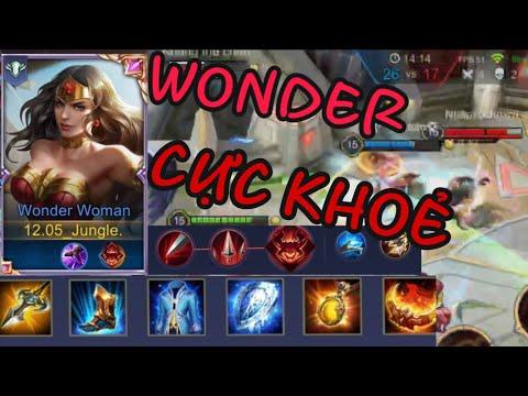 Wonder Woman CỰC KHOẺ VỚI BUILD ĐỒ S16. Liên Quân Mobile | 傳說對決 | AoV | RoV