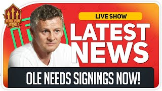 Solskjaer's Midfield Transfer Demand! Man Utd News Now