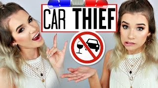 STOLE A CAR AND GOT CAUGHT | SylviaGani