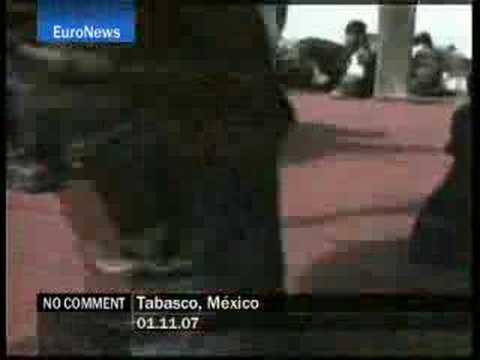 Tabasco - Mexico - EuroNews - No Comment