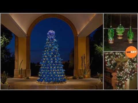 cactus christmas tree my cactus christmas tree and vintage decorations - Cactus Christmas Decorations