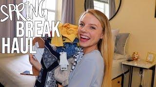 SPRING BREAK HAUL!! Swim, Dresses, tops, + BooHoo