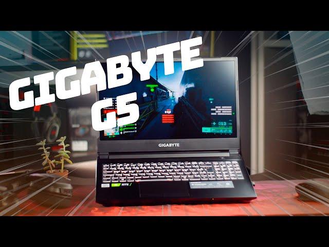 O MELHOR NOTEBOOK GAMER PARA RODAR TODOS OS JOGOS - GIGABYTE G5 (FAST REVIEW PT-BR)