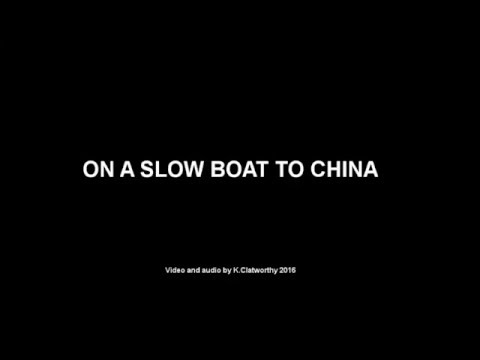 On A Slow Boat To China (with chords)