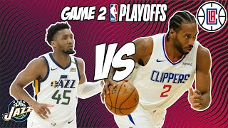 Utah Jazz vs Los Angeles Clippers Game 2 6/10/21 NBA Playoff Free NBA Pick & Prediction