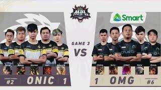 MPL-PH S8 W5D1 ONIC VS OMG Game 3 screenshot 3