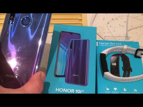 Смартфон Honor 10i 4/128Gb Phantom Blue обзор