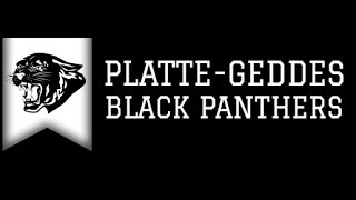 We are the Platte-Geddes Black Panthers!