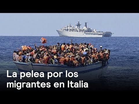 La pelea por los migrantes en Italia - Foro Global