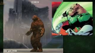 Creating Green Lantern Corps «Green Lantern» [+SUBTITLES]