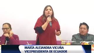 VICEPRESIDENTA VISITÓ MERCADO DE SANTA CLARA EN QUITO