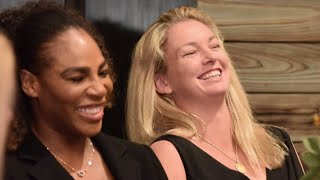 CoCo Vandeweghe and Serena Williams Anchor #TeamUSATennis at Fed Cup 2018