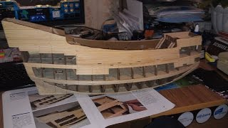 Как сборать Модель корабля галеона дагостини Великие парусники - нюансы, советы