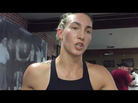 MIKAELA MAYER EXPLAINS WHY KATIE TAYLOR FIGHT NEVER HAPPENED IN AMATEURS?