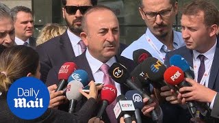 Turkish foreign minister gives update on missing journalist