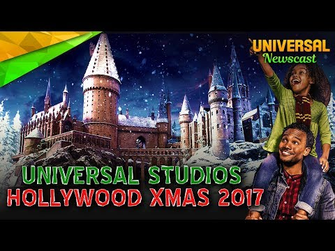 🎄Christmas at Universal Studios Hollywood 2017 - Universal Studios News 10/24/2017