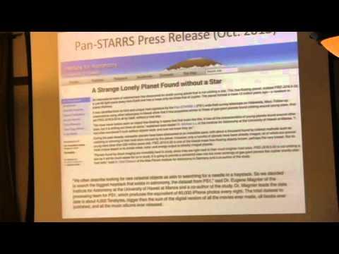 Rochester Big Data Forum 2013: Eric Gawiser
